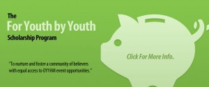 For Youth By Youth scholarship program